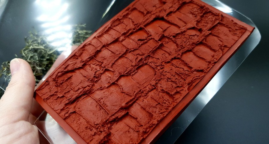 Silicone Texture Forest Tree Bark (Vertical) - 130x83mm 10
