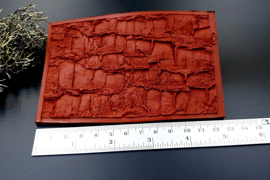 Silicone Texture Forest Tree Bark (Vertical) - 130x83mm 8