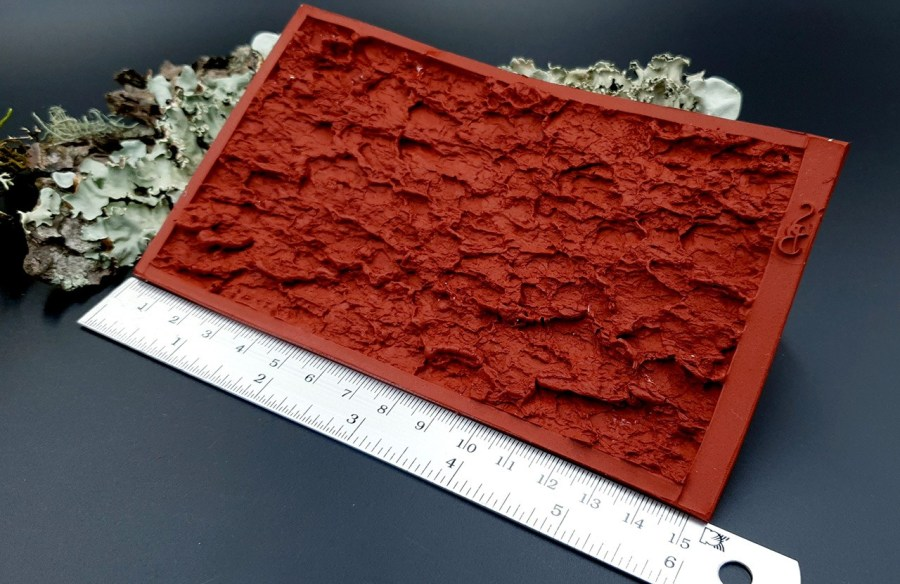 Silicone Texture Tree Bark #1 - 155x90mm 10