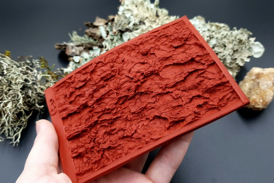 Silicone Texture Tree Bark #2 - 120x80mm 6