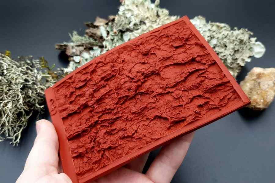 Silicone Texture Tree Bark #2 - 120x80mm