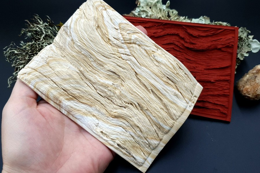 Silicone Texture Drift Wood #1 - 130x95mm 8