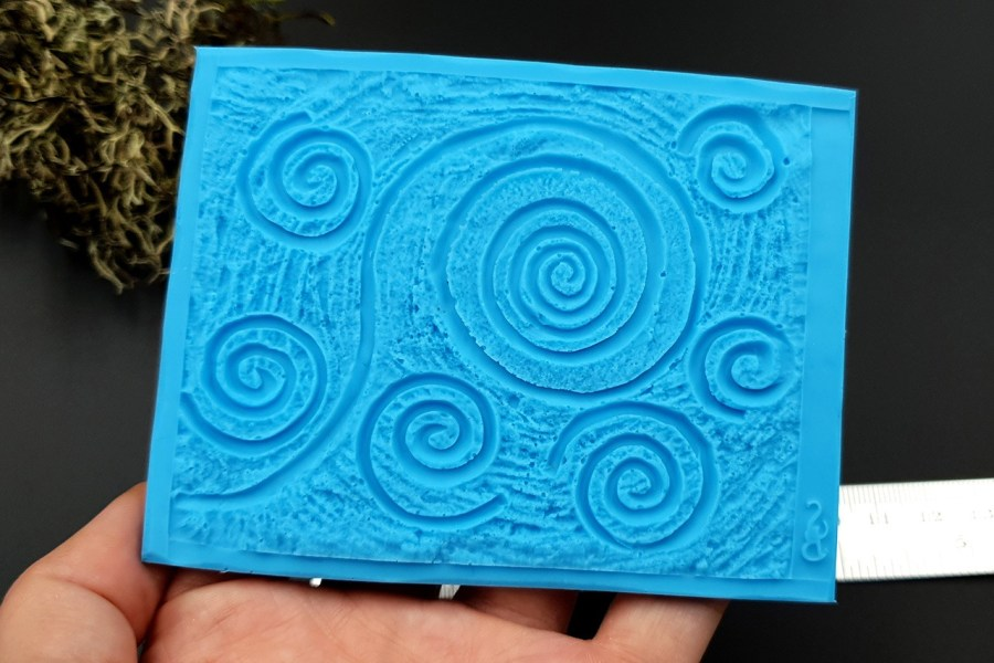 Silicone Texture Starry Night - 100x78mm