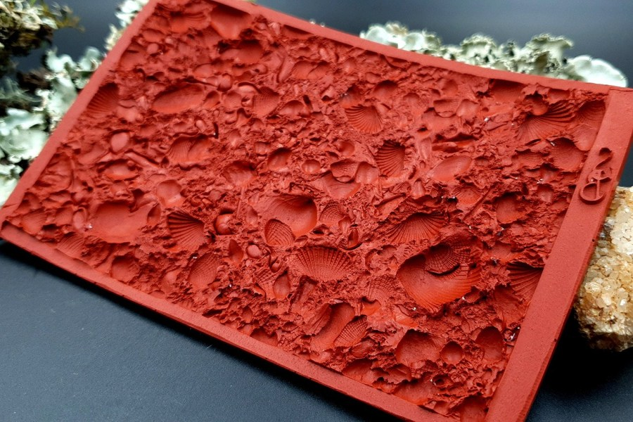Silicone Texture The Sea Bottom 2 - 125x80mm 10