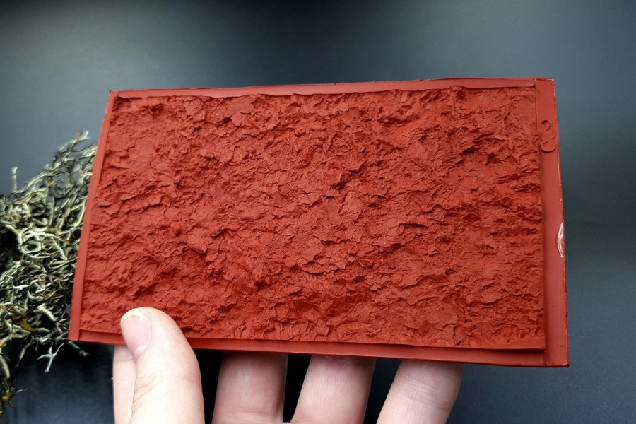 Silicone Texture Mountain Rock #1 - 70x125mm 16
