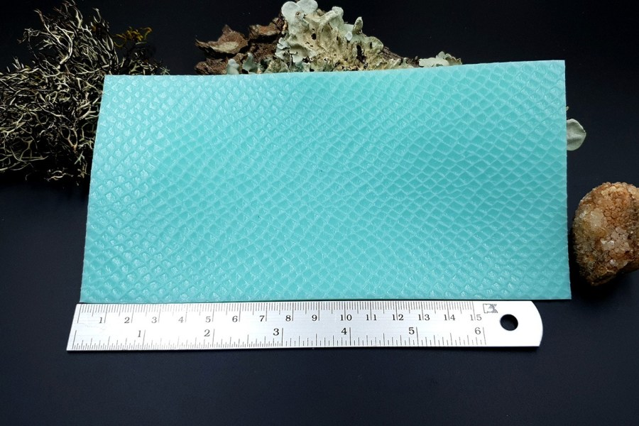 Silicone Texture Snake Skin Leather - 190x100mm 9