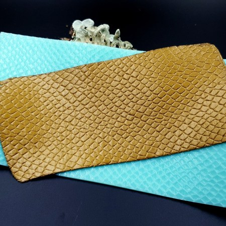 Silicone Texture Snake Skin Leather – 190x100mm