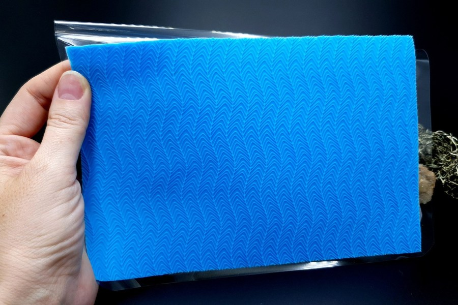 The Waves (Vertical) Silicone Texture - 180x120mm