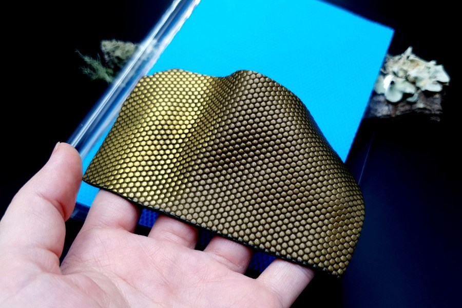 Micro Dots Silicone Texture - 180x120mm 4