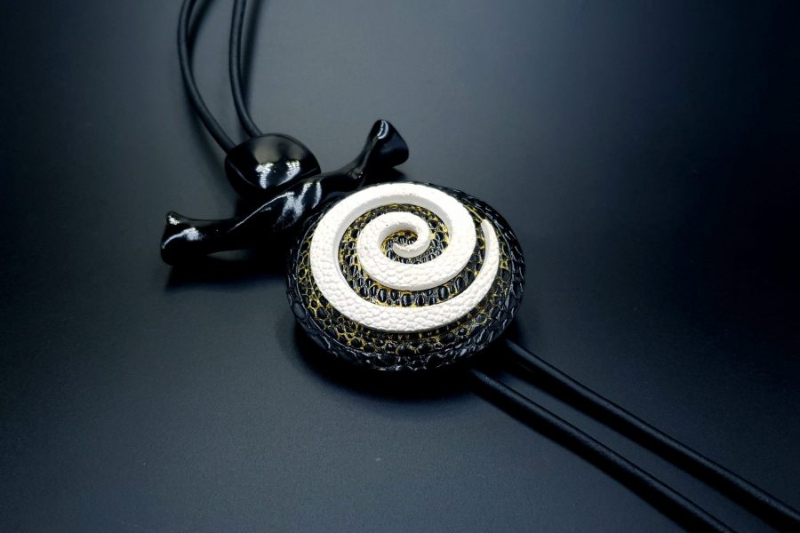 Yin-Yang Swirl Long Pendant - Infiniti of Perfection 1