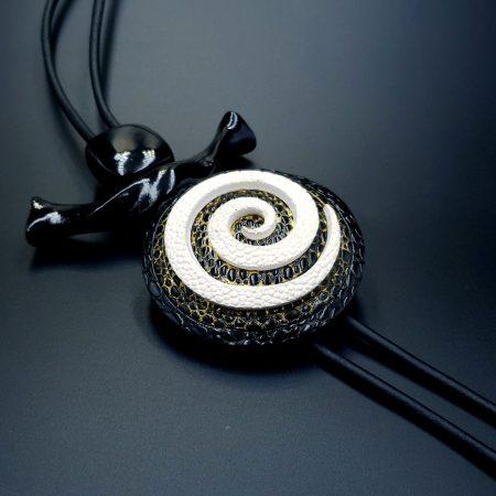 Yin-Yang Swirl Long Pendant – Infiniti of Perfection