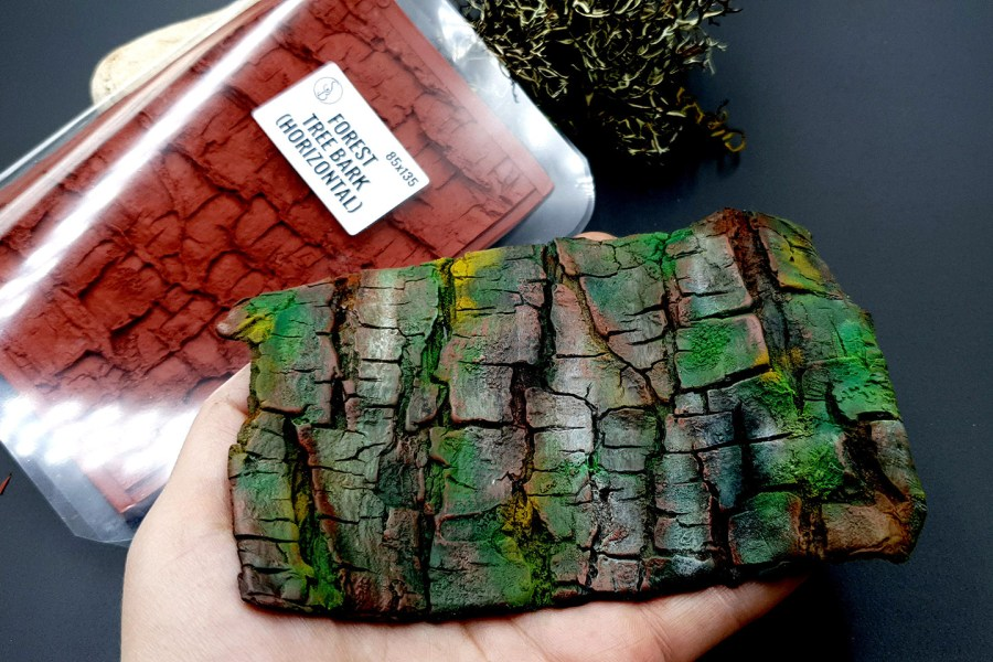 Silicone Texture Forest Tree Bark (Horizontal)- 135x85mm 3