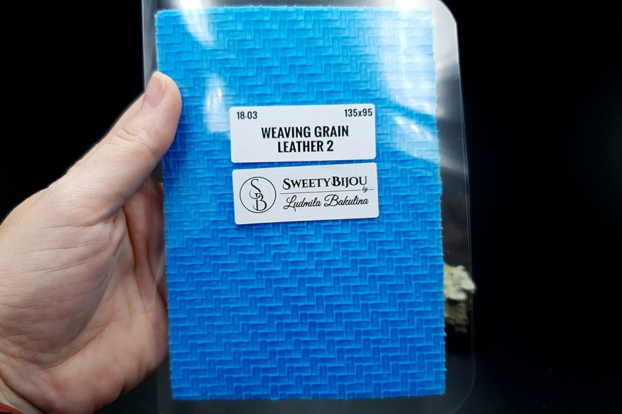 Weaving Grain Leather 2 - Silicone Texture, Small Size 4
