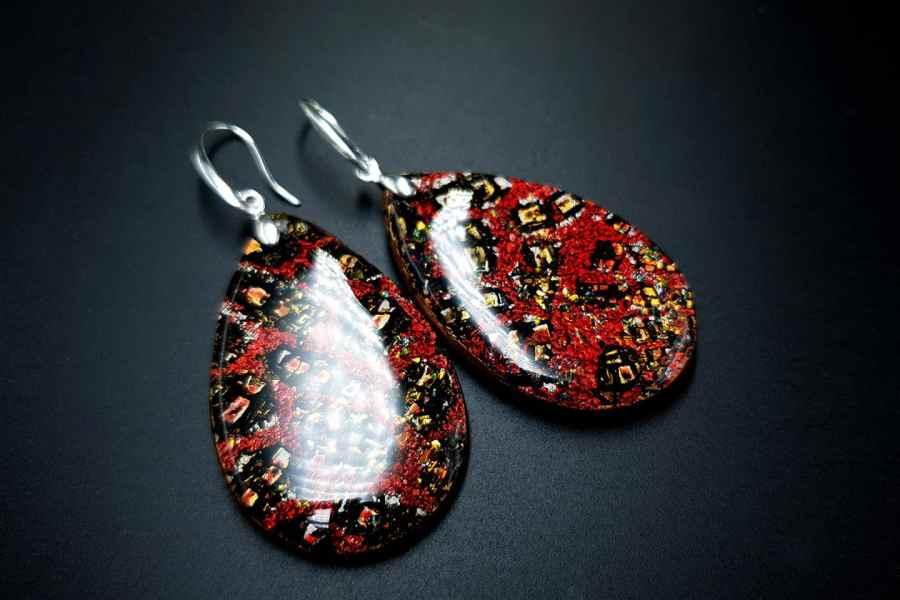 Earrings Christmas Confetti 4