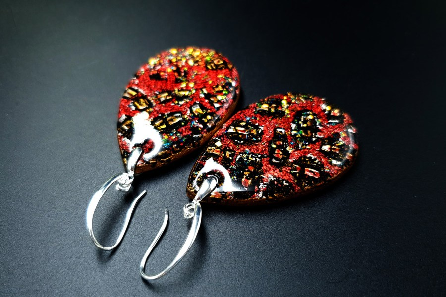 Earrings Christmas Confetti 5