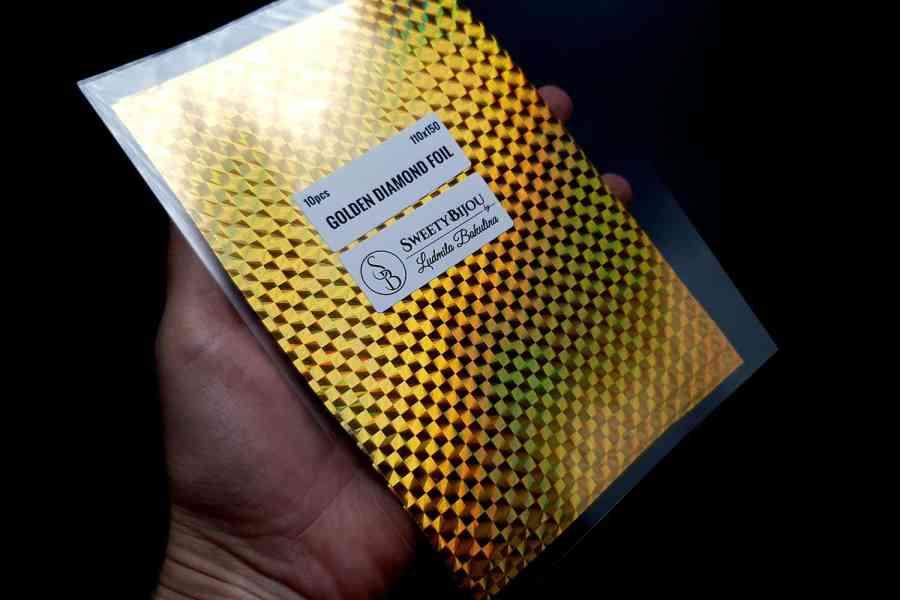 Golden Diamond Foil (10 pcs) 4