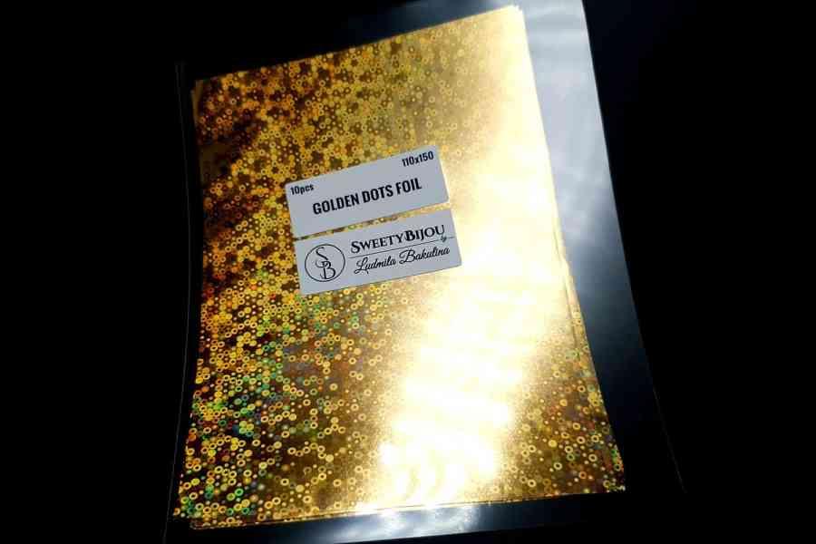 Golden Dots Foil (10 pcs) 4
