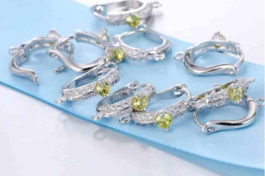 """Earrings Findings """"Elegant Drops"""" (1 pair) 2"""