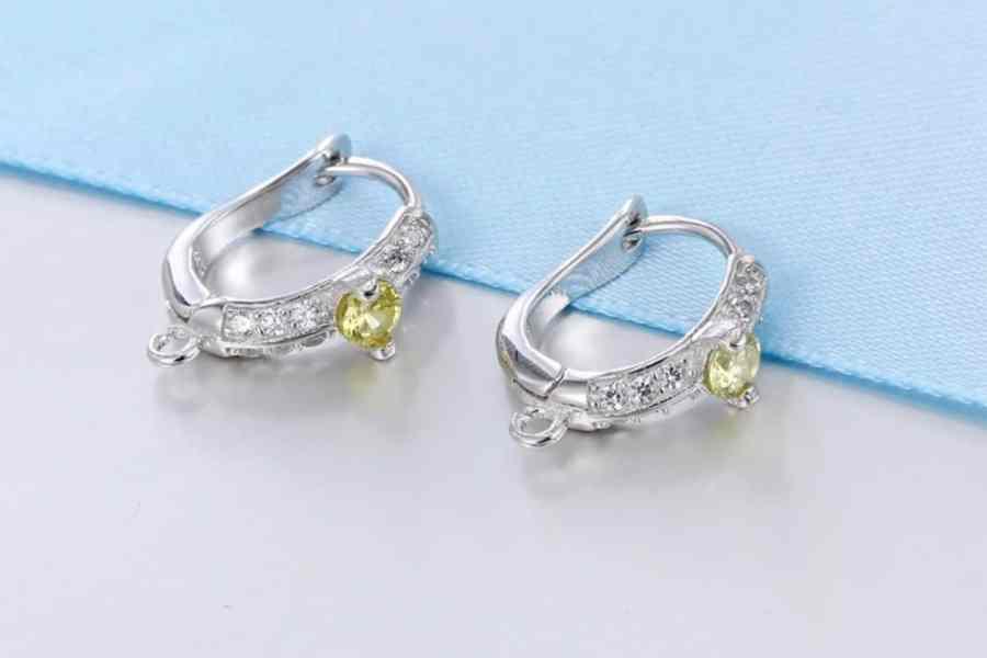 """Earrings Findings """"Elegant Drops"""" (1 pair) 1"""