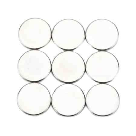 10 pcs (5 pairs) 12x1mm mini N52, neodymium magnets