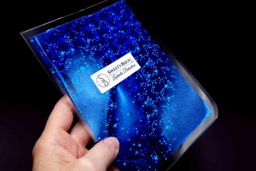 Blue Stars Foil (10 pcs) 3