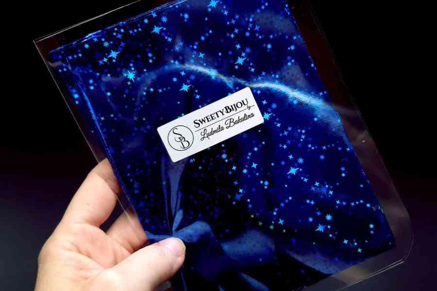 Blue Stars Foil (10 pcs) 4