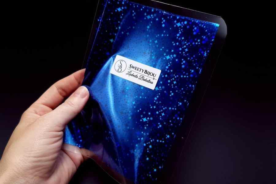 Blue Stars Foil (10 pcs) 5