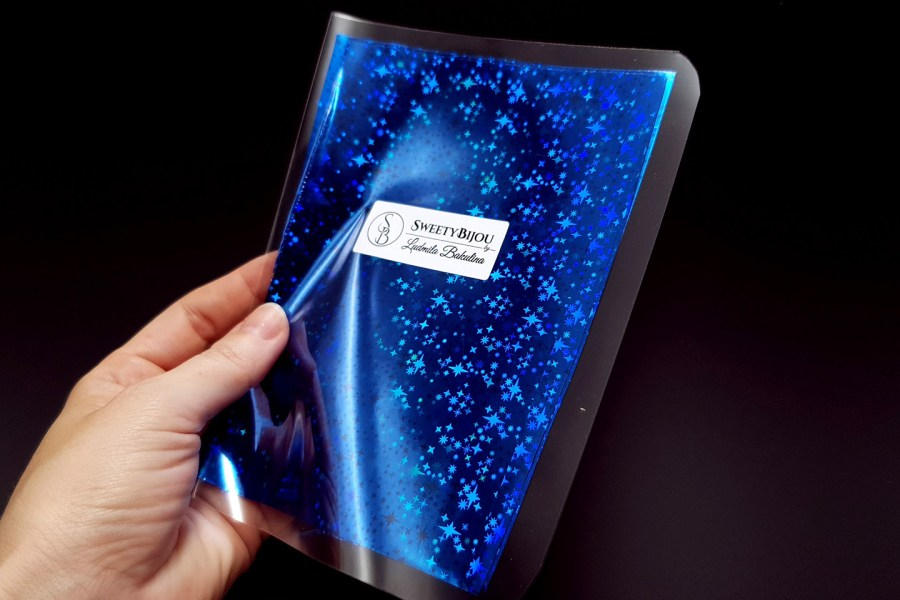 Blue Stars Foil (10 pcs) 6