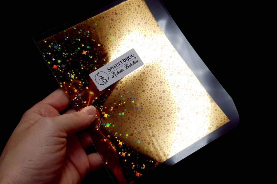 Gold Stars Foil (10 pcs) 8