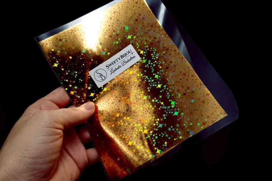 Gold Stars Foil (10 pcs) 1