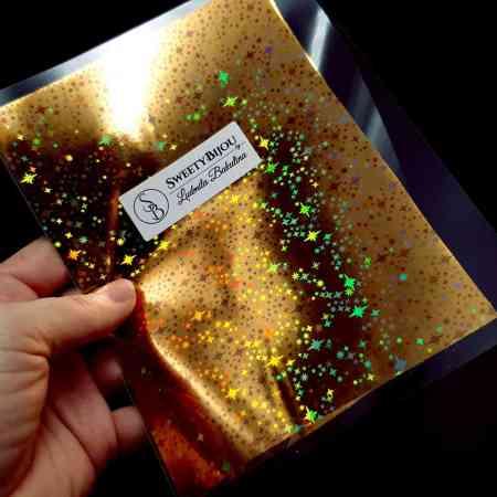 Gold Stars Foil (10 pcs)