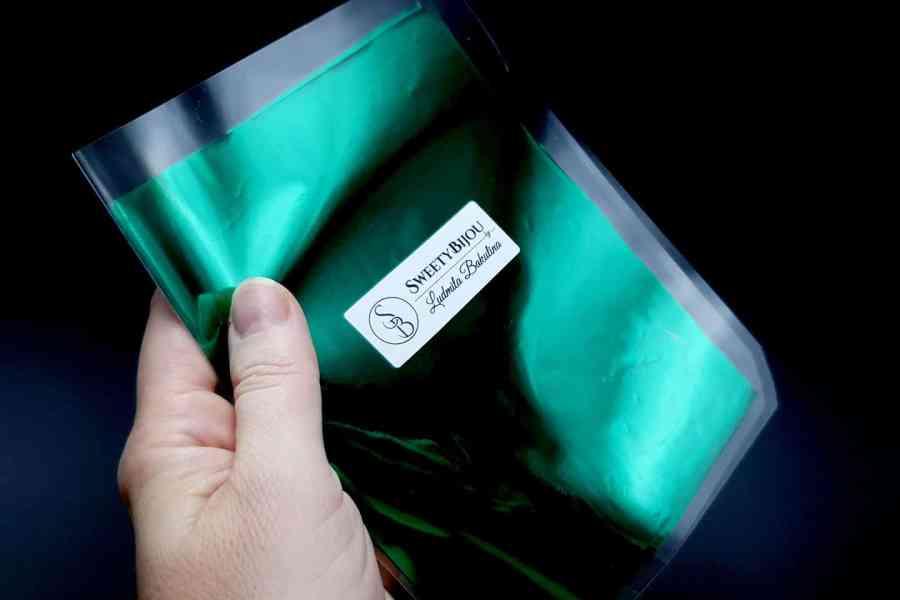 Emerald Green Foil (10 pcs)