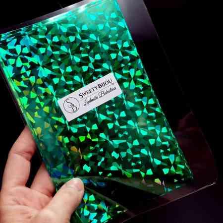Emerald Shards Foil (10 pcs)