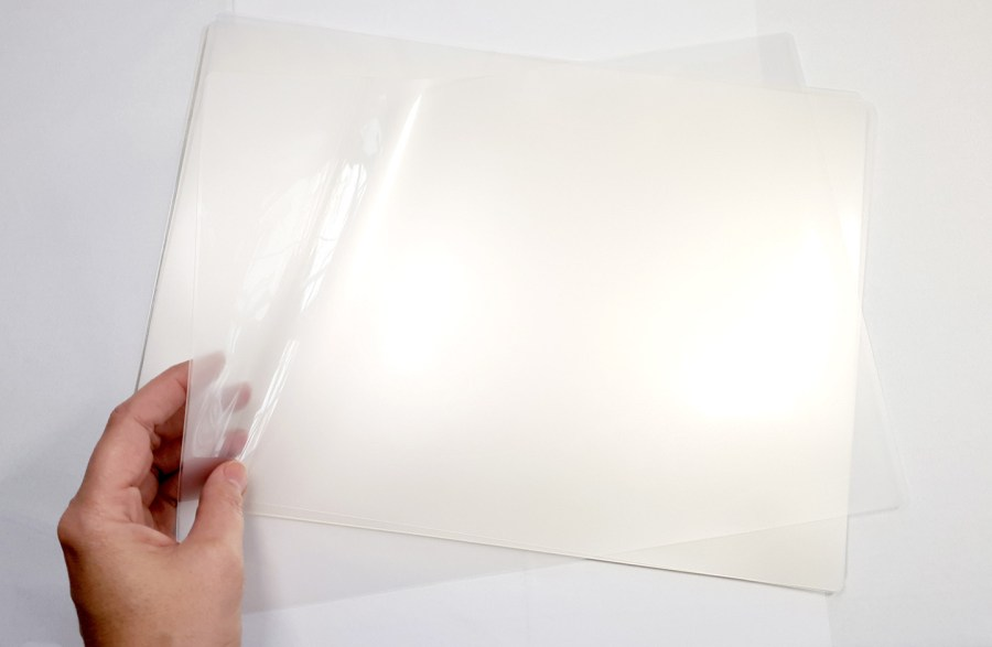 Thick Double Plastic Sheets (5Pcs) for Storage Polymer Clay Work 4