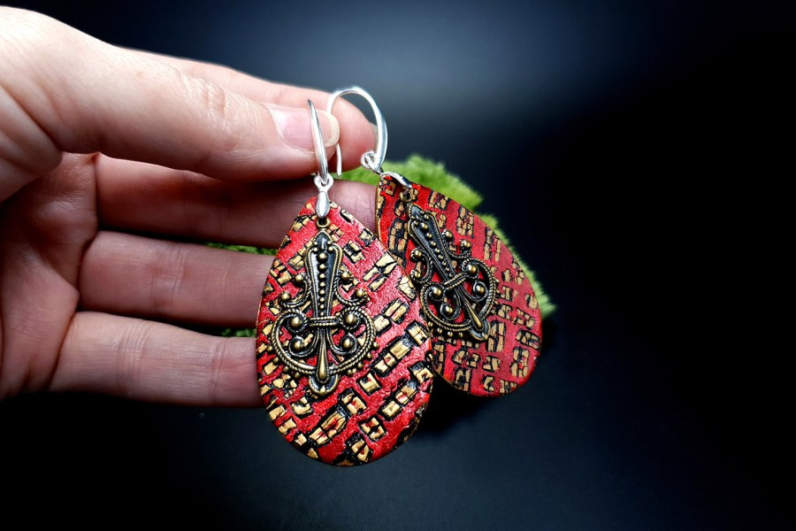 Jewelry Set Christmas Tale Earrings Pendant 2 2