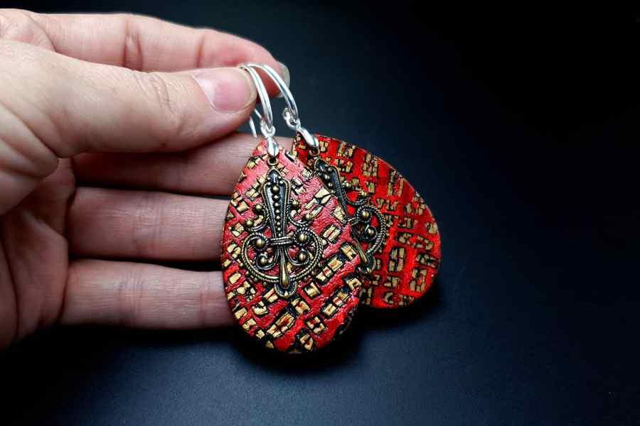 Jewelry Set Christmas Tale Earrings Pendant 2 4