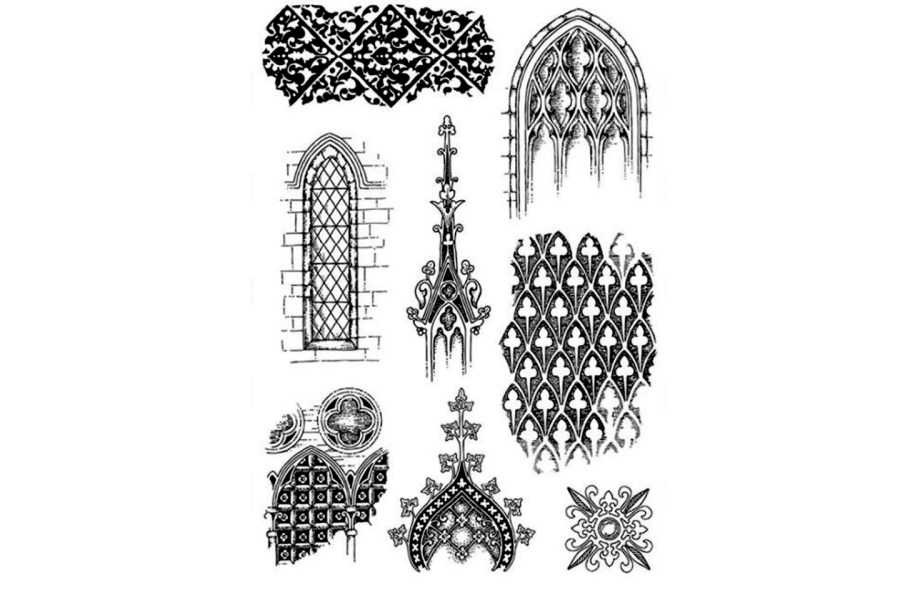 Moroccan Style 1 - Silicone Stamp 6