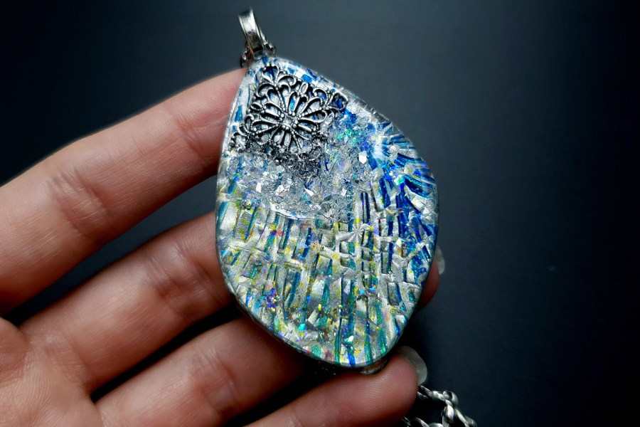Pendant Melted Ice 6