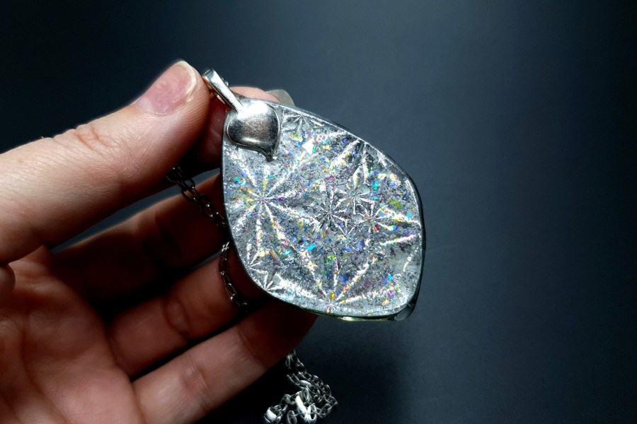Pendant Melted Ice 9