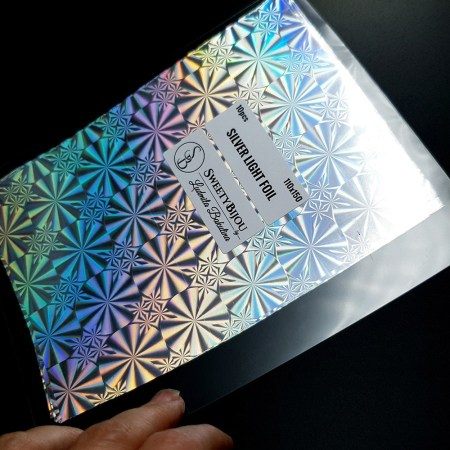 Silver Light Foil (10 pcs)