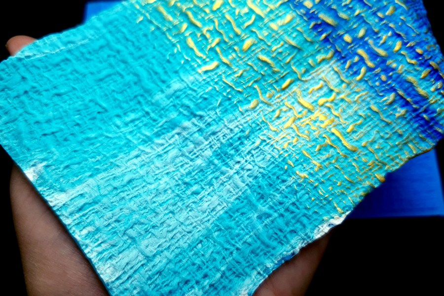 Woven Cloth Silicone Texture 9