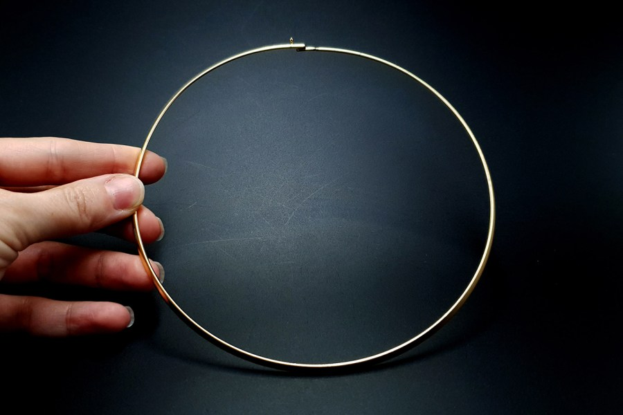 Metal Base Golden Necklace 4