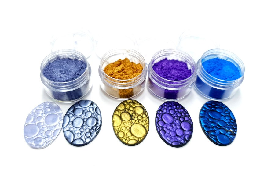 Ocean Sunset - Set of 4 Pigment powders 1