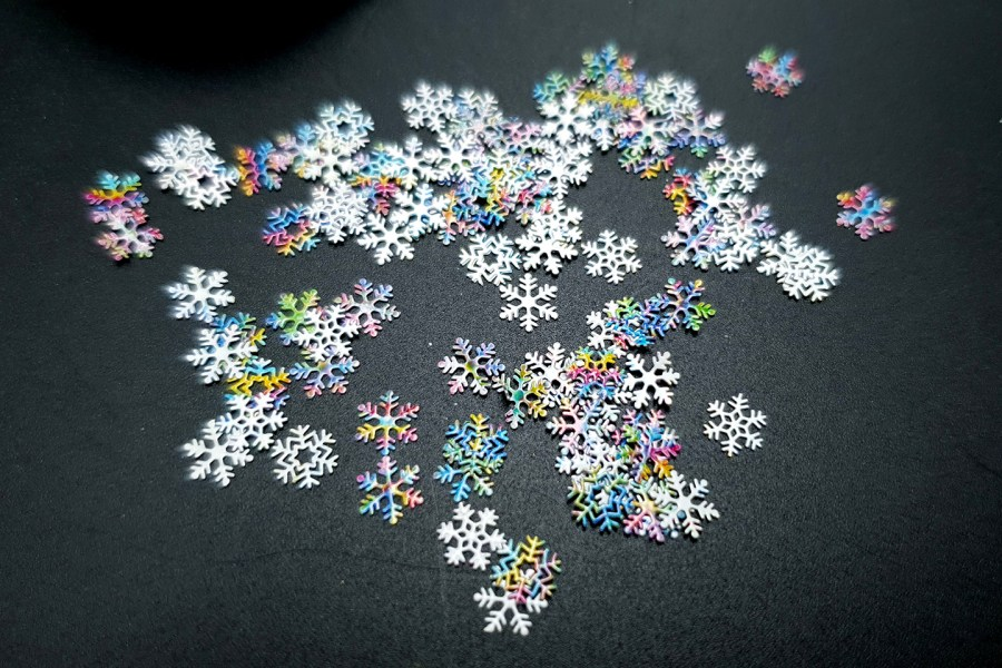 Colorful Snowflakes (30g) 6