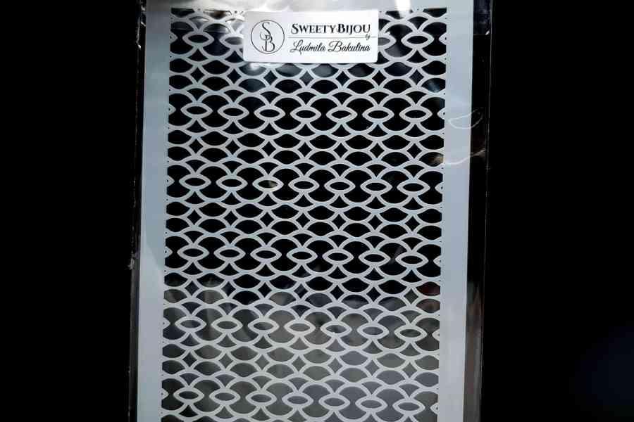 Oval Net Pattern (12x24cm) 2