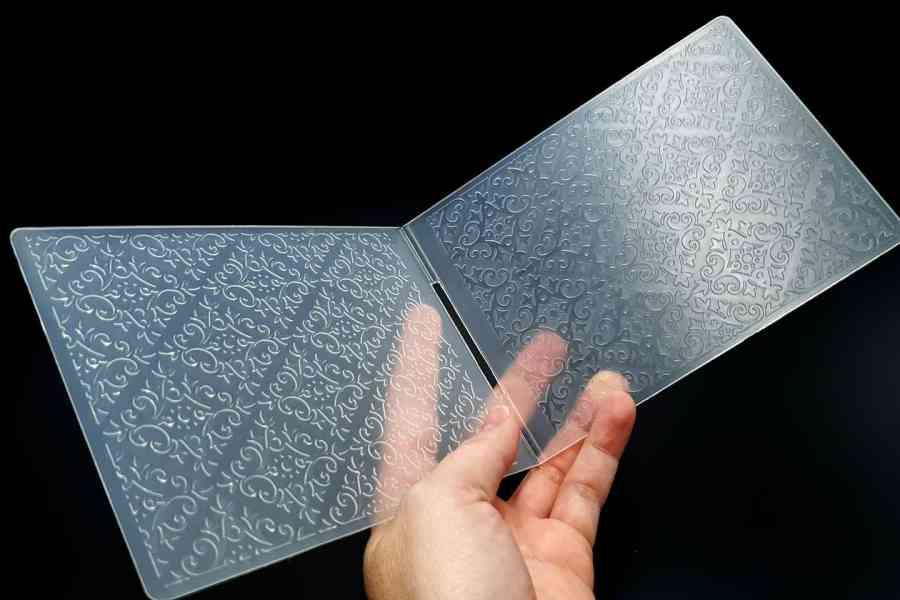 Floral Pattern (10.5x14.5) - Plastic Texture 7