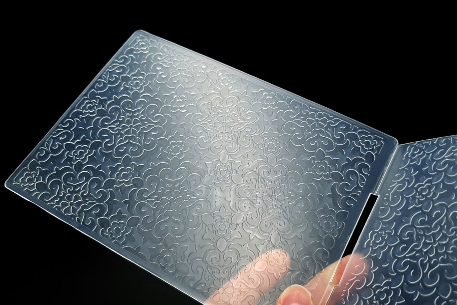 Flowers (12.5x12.8cm) - Plastic Textures 8