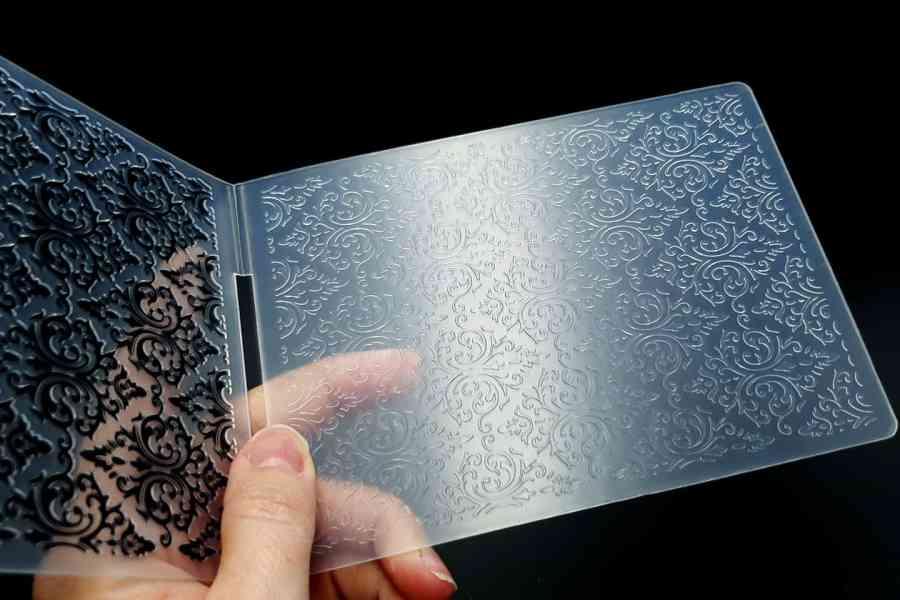 Floral Pattern 2 (10.6x14.5cm) - Plastic Textures 4