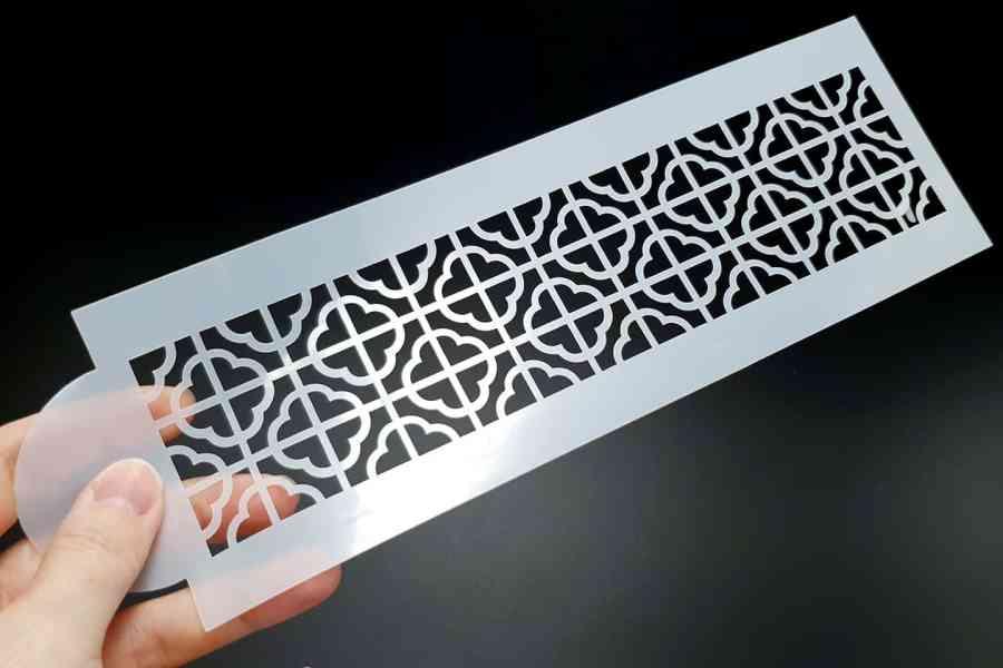 Retro Flowers Pattern (26x8cm) 3