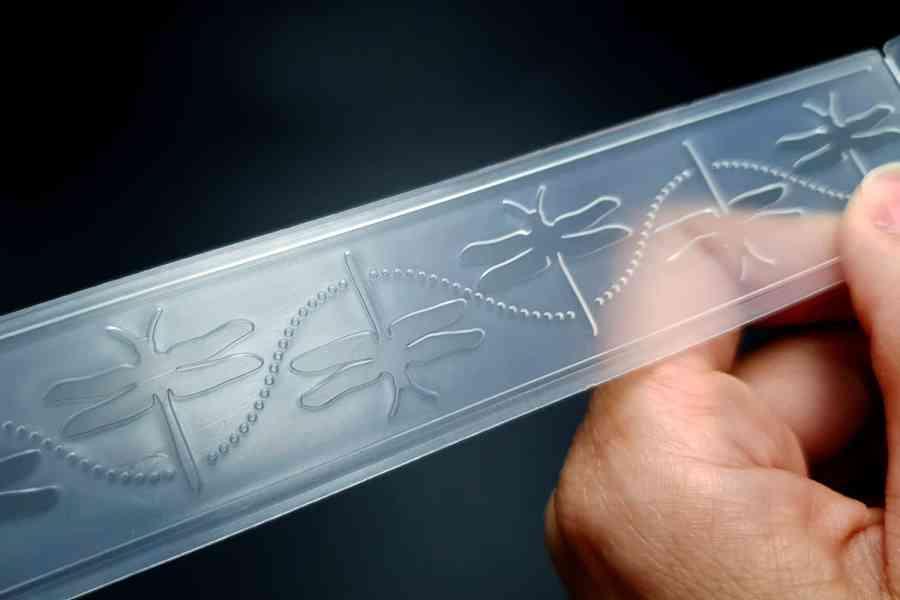 Dragonflies (15x3) - Plastic Texture 4